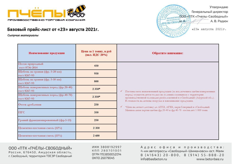 Базовый прайс-лист на СЫПУЧИЕ МАТЕРИАЛЫ от 23.08.2021_page-0001